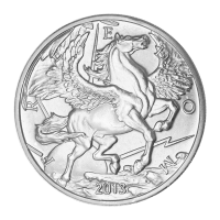 1 ounce 2013 Pegasus sølvrunde