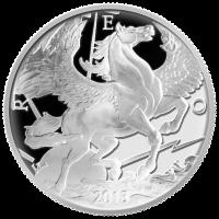 10 oz Silbermedaille - Pegasus limitiert - 2013