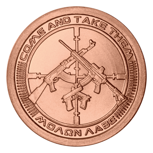 1 oz 2014 AG-47 Copper Round