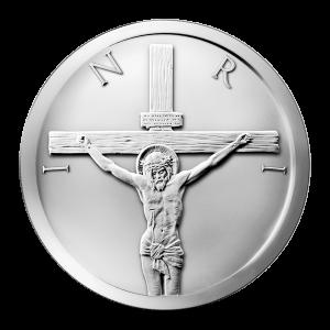 Ronde d'argent La Crucifixion 2014 de 1 once