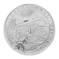 1 oz 2014 Armenian Noah's Ark Silver Coin