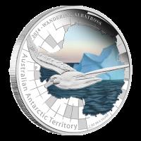 1 oz australische Silbermünze - antarktisches Gebiet Serie - Wanderalbatross 2014 limitiert