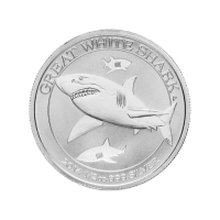 1/2oz 2014 Australian Great White Shark Silver Coin