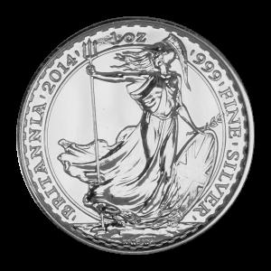 1盎司2014年不列颠银币