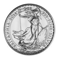 1 oz Silbermünze - Britannia - 2014
