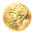1 oz 2014 Freedom Girl Gold Round