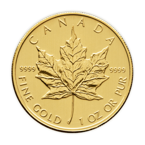 1 oz 2011 Canadian Maple Leaf Gold Coin
