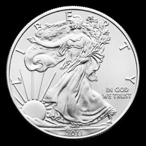 Pièce d'argent American Eagle 2011 de 1 once