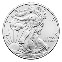 1 oz 2011 American Eagle Silver Coin