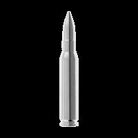 2 oz .308 (7.62 NATO) sølvpatron
