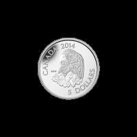 1/10 oz Platinmünze - Weißkopfadler - 2014
