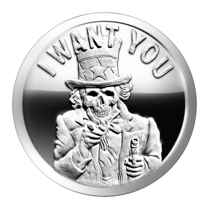 1 oz 2014 Slave Uncle Silver Proof-like Round