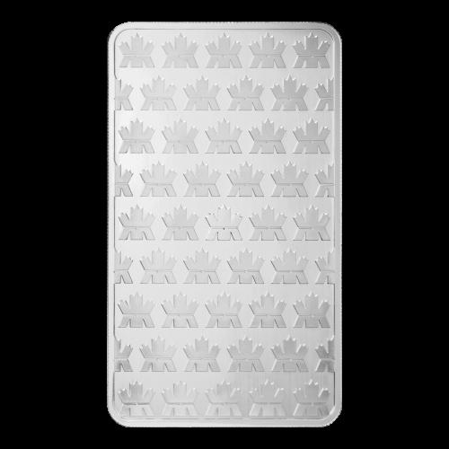 Ein Muster aus Logos der königlich kanadischen Prägeanstalt