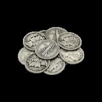 $1 Nennwert Silbermünzen in einem Beutel, U.S. Umlauf 90% reines Silber