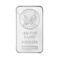 5oz Sunshine Mint Silver Bar