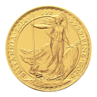 1 oz 2014 Britannia Gold Coin
