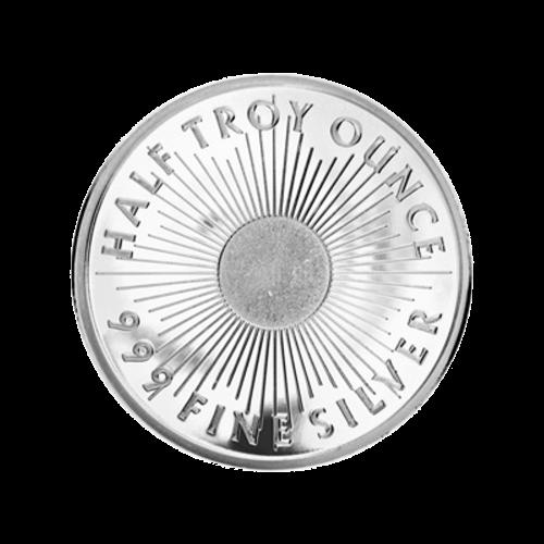 Muster des teilweisen Logo-Designs der Sunshine Münzanstalt – Mint Mark SI