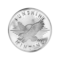 1/2 oz Sunshine Mint Silver Round