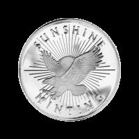 1/2 oz Silbermedaille - Sunshine Prägeanstalt
