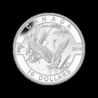 "1/2 oz Silbermünze - ""O Canada"" Serie kanadische Gans - 2014"
