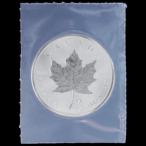 1 oz 2014 Canadian Maple Leaf Flex Sealed Silver Coin