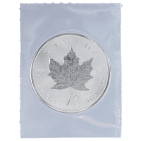 Moneta in argento 1 oz 2014 Canada Maple Leaf (foglia d'acero) sigillata