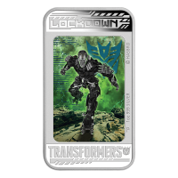 Moneta in argento proof 1 oz 2014 Transformers: Age of Extinction - Lockdown