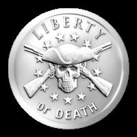 1 oz Silbermedaille - Freiheit oder Tod - 2014
