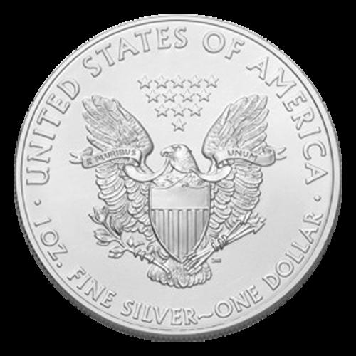 1 oz Silbermünze - amerikanischer Adler PCGS MS-69 (FS) Mercanti gezeichnet - 2013