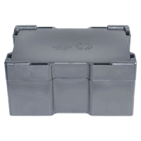 Leere schwarze Monsterbox für 10 oz Silberbarren von RCM