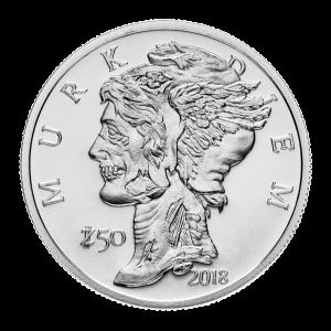 1 oz Zombucks Murk Diem Silver Round