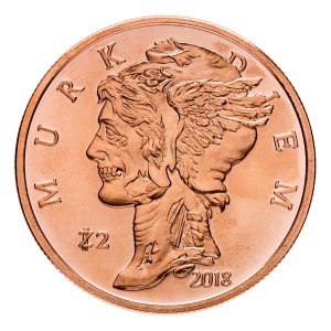 1 oz Zombucks Murk Diem Copper Round