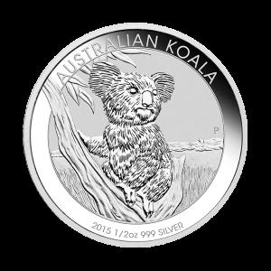 1/2 oz 2015 Australian Koala Silver Coin