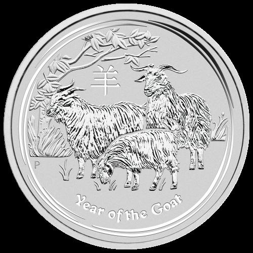 """Bildnis der Königin Elisabeth II. mit den Worten """"Elizabeth II Australia 8 Dollar 5 oz 999 Silver 2015"""""""