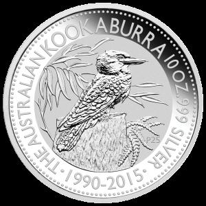 10 oz 2015 Australian Kookaburra Silver Coin