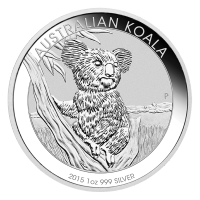 1 oz australische Silbermünze - Koala - 2015