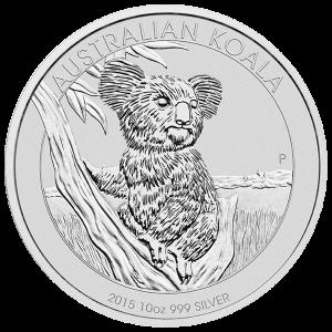 10 oz 2015 Australian Koala Silver Coin