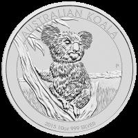 10 oz australische Silbermünze - Koala - 2015