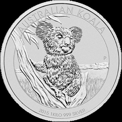 1 kg | kilo 2015 Australian Koala Silver Coin