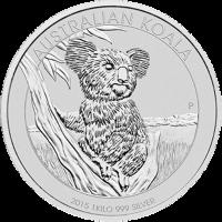 Moneta in argento 1 kg 2015 Australia Koala