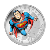 3/4 oz Silbermünze - Superman™ Comic Titelbild: Action Comics #419 -  2014