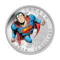 3/4 oz 2014 Superman™ Tegneserie Forsider: Action Comics #419 Sølvmynt
