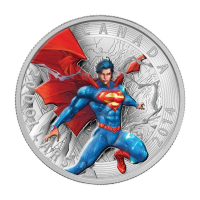 1 oz Silbermünze - Superman™ Comicheft Umschläge: Superman™ jährlich #1 - 2014