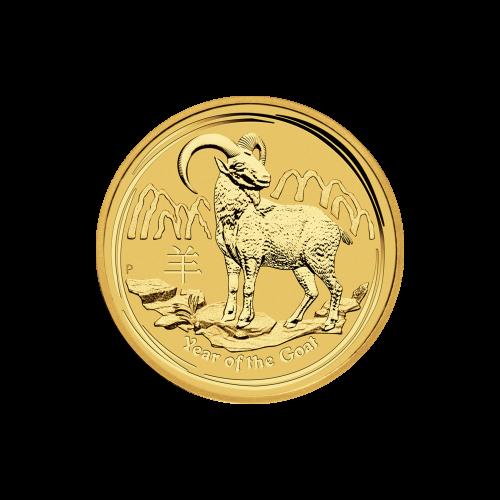 """Abbild der Königin Elizabeth II., mit den Worten """"Elizabeth II Australia 25 Dollars 1/4 oz 9999 Gold 2015"""" (Elizabeth II. Australien 25 Dollar 1/4 oz 9999 Gold 2015)."""