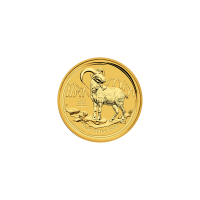 1/2 ounce 2015 Year of the Goat Perth Mint guldmønt