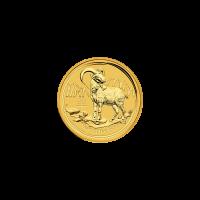 Moneta in oro 1/20 oz 2015 Anno della capra Perth Mint