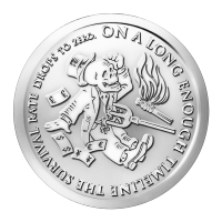 1oz 2014 The End of the Line | Bankster Series Silver Round