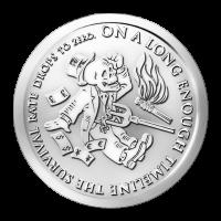 1 oz Silbermedaille - Das Ende der Linie | Banknoven Serie 2014