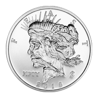 1 oz Silbermedaille - Zombucks Dollarfest