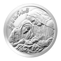1 oz Silbermedaille - Freue dich Welt - 2014
